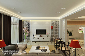 2018精选120平米现代别墅客厅装饰图片