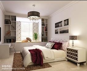 面积81平现代二居卧室实景图片欣赏