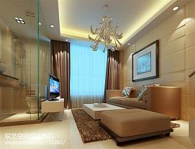 2018精选面积80平小户型客厅现代效果图