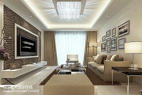 热门78平米现代小户型客厅装修设计效果图