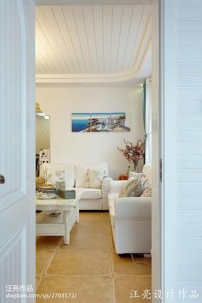 精美四居客厅地中海装修设计效果图片欣赏