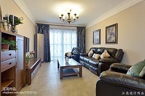 热门95平米三居客厅新古典装修图客厅美式经典设计图片赏析
