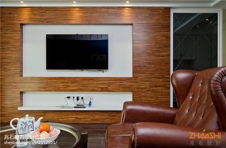 精选大小101平欧式三居客厅实景图片欣赏客厅