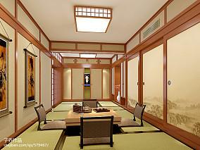 美式一室一厅豪华装修效果图片