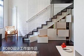 201872平米现代小户型客厅设计效果图