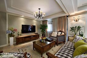 简约美式客厅空间装修设计大全