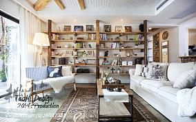 精选面积101平混搭三居客厅装饰图片