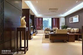 精选105平米三居客厅中式实景图片大全