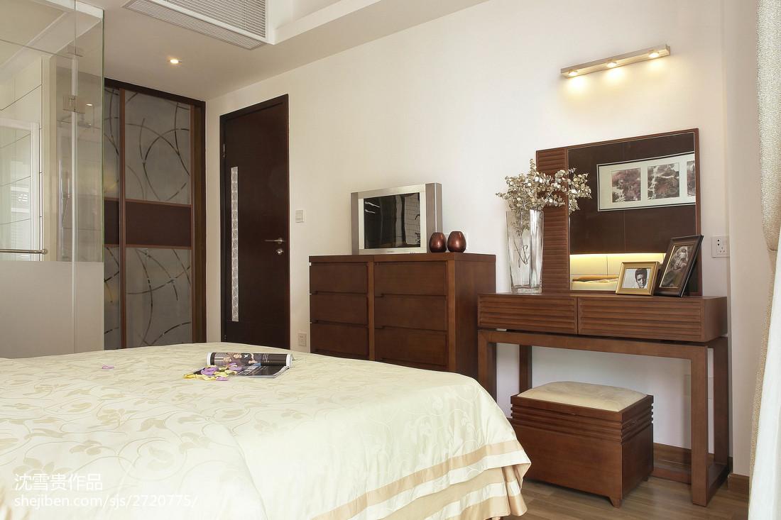 新中式卧室装修图