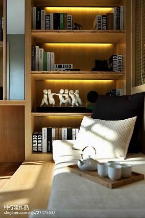 精美书房中式装修效果图家装装修案例效果图