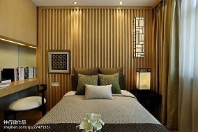 精美中式卧室装修图片欣赏样板间中式现代家装装修案例效果图