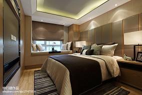 2018精选卧室中式效果图片欣赏家装装修案例效果图