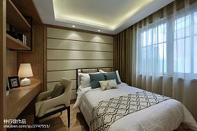 中式卧室装修效果图家装装修案例效果图