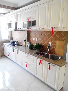 精选102平米三居厨房欧式装饰图片大全
