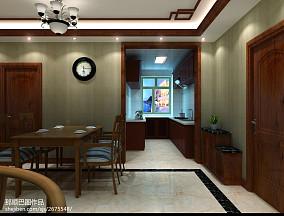 低调50平米一室一厅效果图