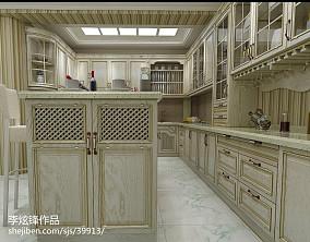 精美123平米混搭复式厨房欣赏图片