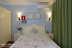 大小103平美式三居卧室装修欣赏图片