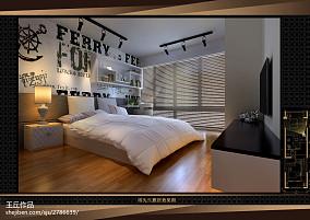 精美面积73平现代二居卧室装修欣赏图片大全