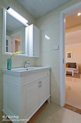精美面积70平现代二居卫生间欣赏图片大全