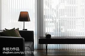 精美面积70平小户型客厅现代效果图片