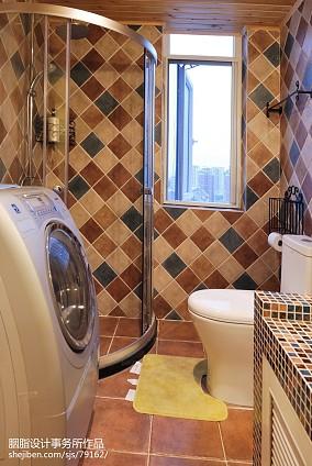 精美95平米三居卫生间混搭装修设计效果图片卫生间潮流混搭设计图片赏析