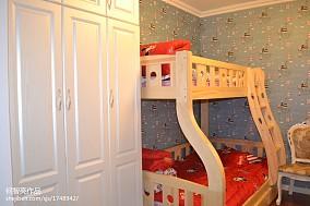 精美二居儿童房欧式装修实景图