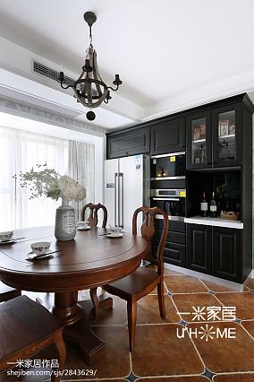 温馨85平美式三居设计图三居美式经典家装装修案例效果图