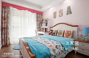 精美美式三居儿童房装修设计效果图