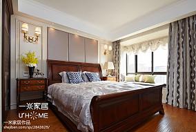 热门面积131平欧式四居卧室欣赏图四居及以上欧式豪华家装装修案例效果图