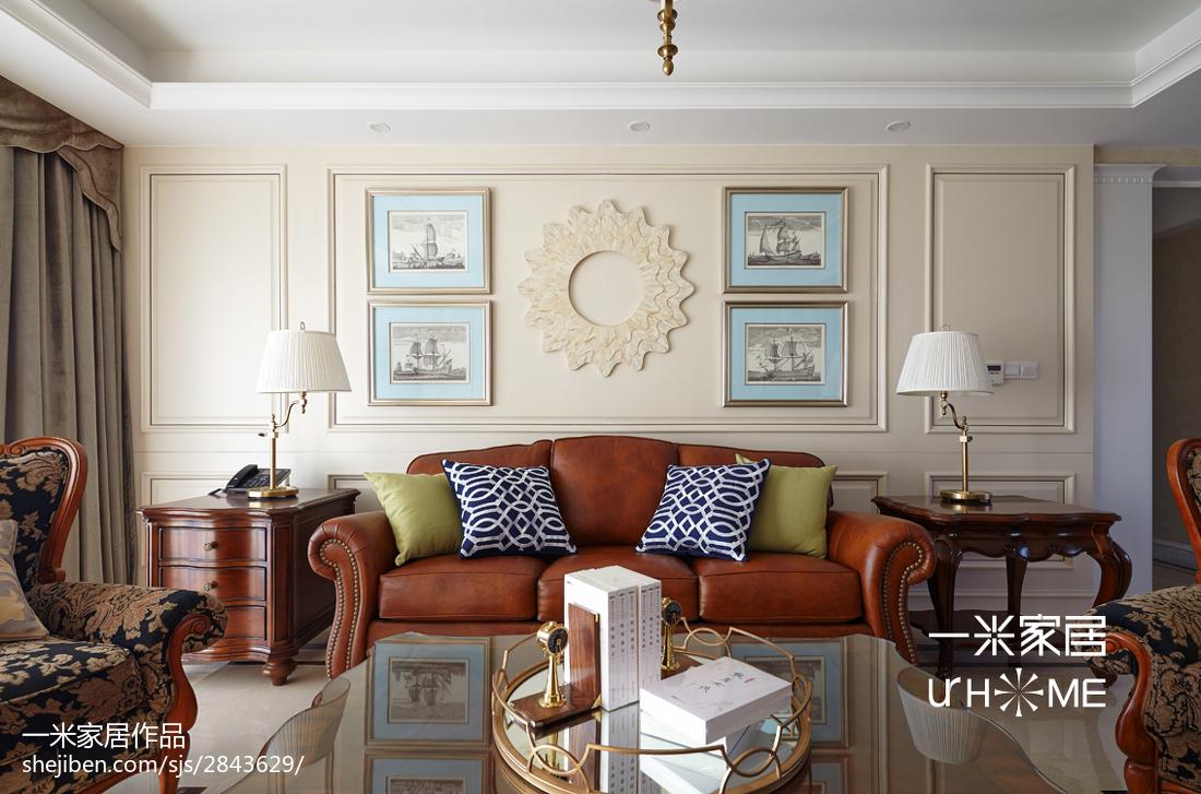 2018精选144平米四居客厅欧式装修设计效果图片客厅