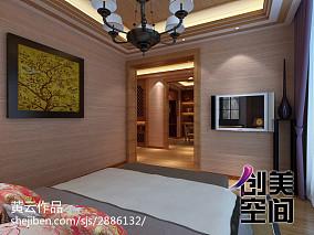 2018110平米四居东南亚装修图片欣赏