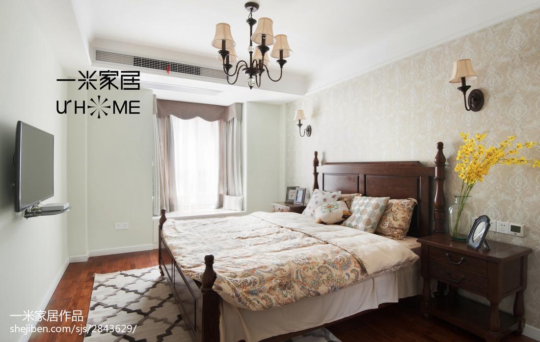 2018复式卧室美式装修图片卧室美式经典卧室设计图片赏析