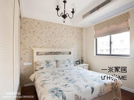 精选130平米美式复式卧室装修欣赏图
