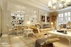 美式客厅豪宅设计