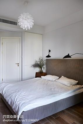 热门现代小户型卧室装饰图