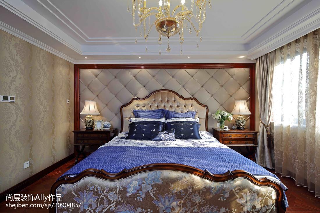 欧式风格卧室抽屉柜效果图