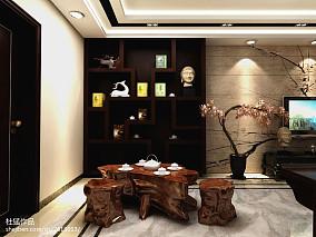 精美112平米四居客厅中式装饰图片大全