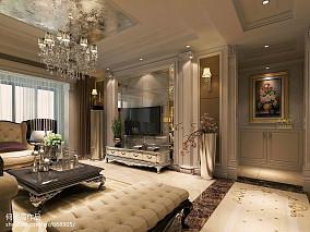 99平方三居客厅欧式装修效果图片