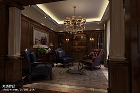 美式公寓休闲区装修设计效果图片大全