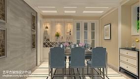 精美欧式二居餐厅装修实景图家装装修案例效果图