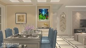 热门欧式二居餐厅装修欣赏图家装装修案例效果图