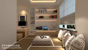 2018面积83平欧式二居卧室实景图片家装装修案例效果图