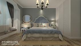 热门79平米二居卧室欧式装修图片家装装修案例效果图
