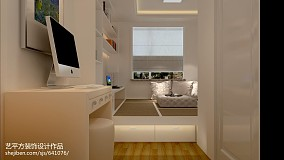 精选89平米二居卧室欧式装修效果图片大全家装装修案例效果图