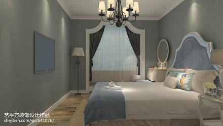 89平米二居卧室欧式装修效果图片大全
