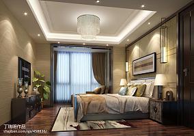 精美中式四居卧室装修效果图片