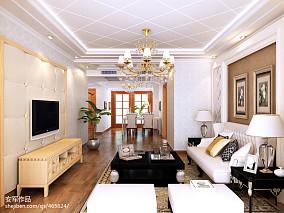 欧式风格三居室装修图片大全欣赏