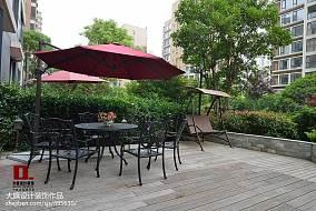 热门面积123平复式花园新古典装修设计效果图片欣赏