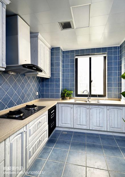 地中海风格厨房装修设计餐厅