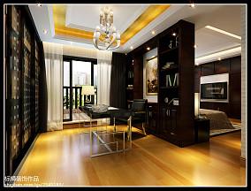 华丽优雅时尚一居室装修效果图
